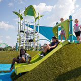 The Ultimate Playday: Synthetic Grass for Playgrounds