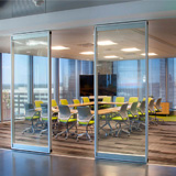 Through the Looking Glass: Movable Glass Partition Systems