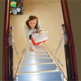 Disappearing, Standard, and Ship Stairs: Specifying for Safety and Efficiency