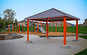 Steel & Aluminum Recreational Shelters
