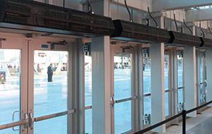 Energy Savings With Air Curtains
